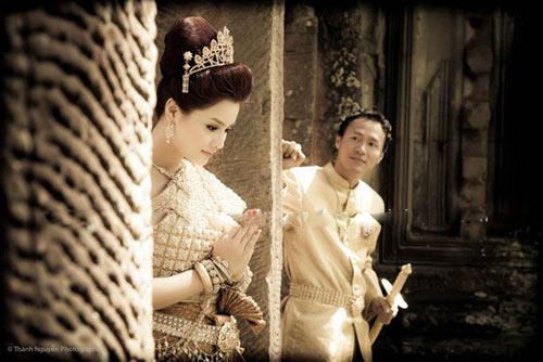 Ngắm trọn bộ ảnh cưới của siêu mẫu Vũ Thu Phương - 11