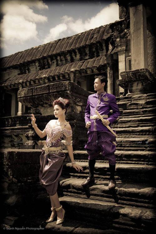 Ngắm trọn bộ ảnh cưới của siêu mẫu Vũ Thu Phương - 13