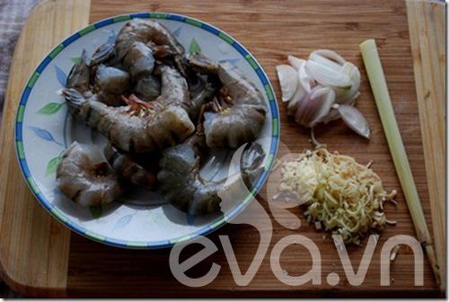 Tôm ram nước cốt dừa, món ngon vùng quê - 4