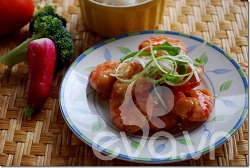 Tôm ram nước cốt dừa, món ngon vùng quê - 5