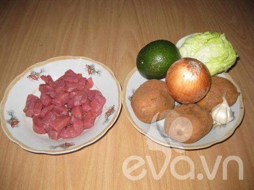 Bài dự thi: Bò xốt cam và khoai tây chiên - 2