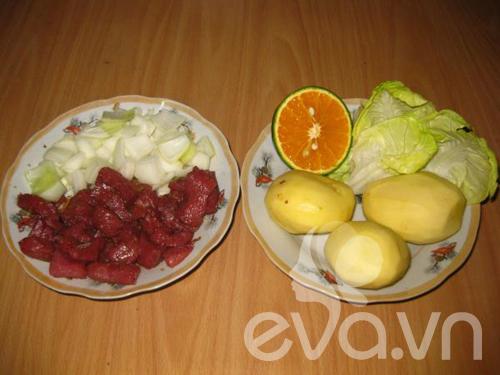 Bài dự thi: Bò xốt cam và khoai tây chiên - 3