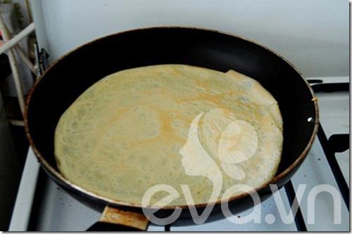 Bánh crepe nhân mặn cho bữa trưa nào - 6