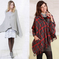 2 mẫu áo khoác cực yêu cho mẹ bầu