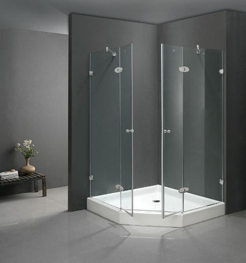 Phòng tắm kính xu hướng thời thượng của biệt thự