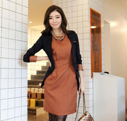 Áo vest cách điệu xúng xính mùa thu - 7