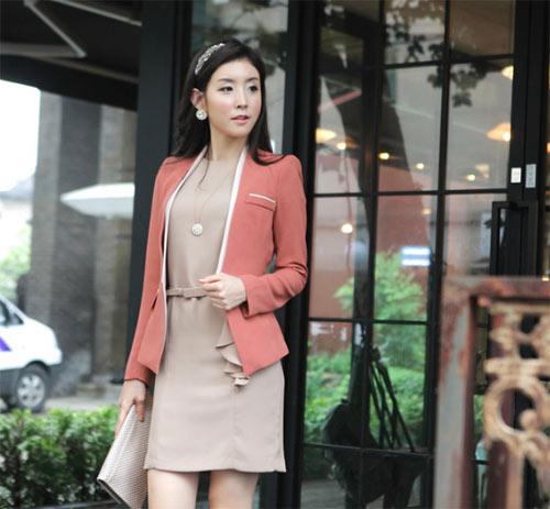 Áo vest cách điệu xúng xính mùa thu - 35