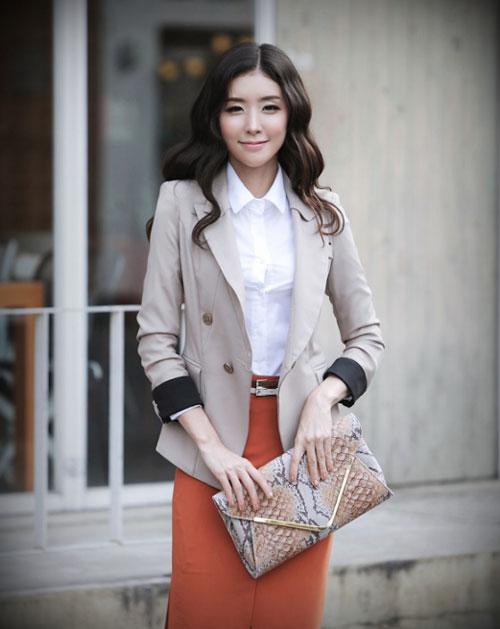 4 mẫu áo khoác nàng công sở không thể thiếu - 1