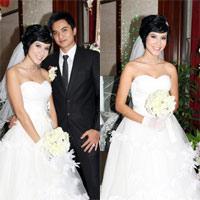 Bảo Trúc đẹp rạng ngời trong ngày hôn lễ