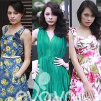 Diện váy xinh trong nắng mùa Đông