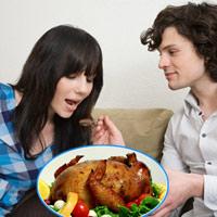 Bà bầu mê tít món gà nhồi xôi