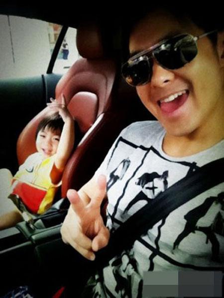 """Ảnh """"độc"""": Lâm Chí Dĩnh và con trai - 8"""