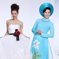 Trang phục dự thi Mrs World của Thu Hương
