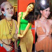 Top trang phục phản cảm nhất năm của sao Việt