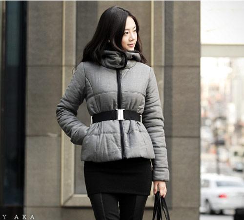 'Duyên ngầm' với áo phao mùa đông - 1