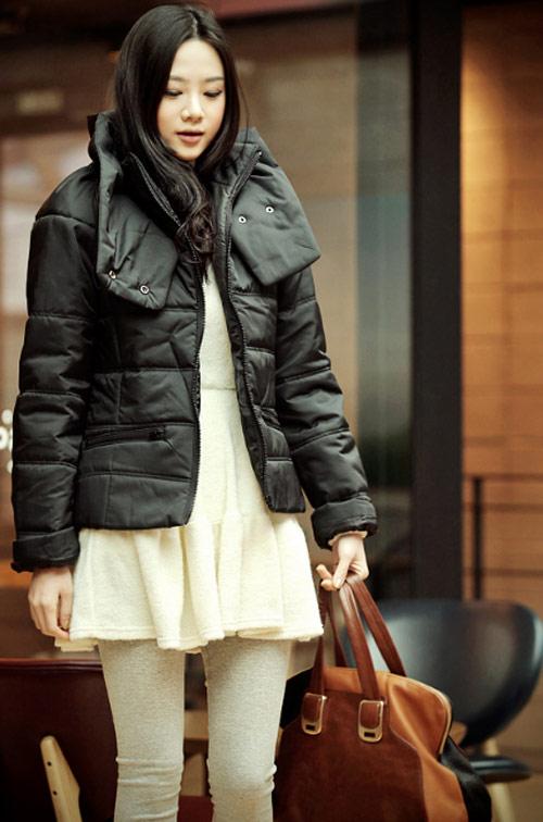 'Duyên ngầm' với áo phao mùa đông - 14