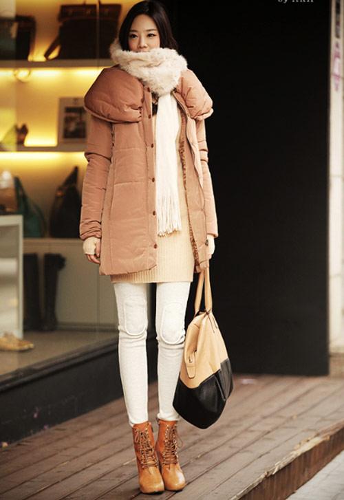 'Duyên ngầm' với áo phao mùa đông - 15