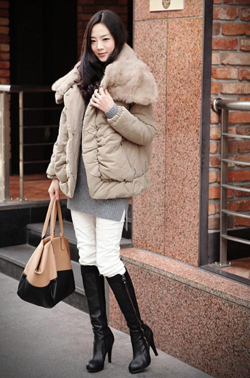 'Duyên ngầm' với áo phao mùa đông - 25