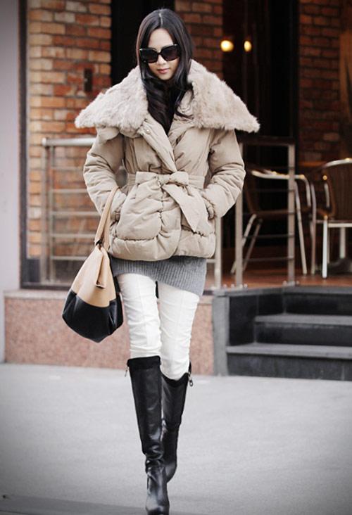 'Duyên ngầm' với áo phao mùa đông - 26