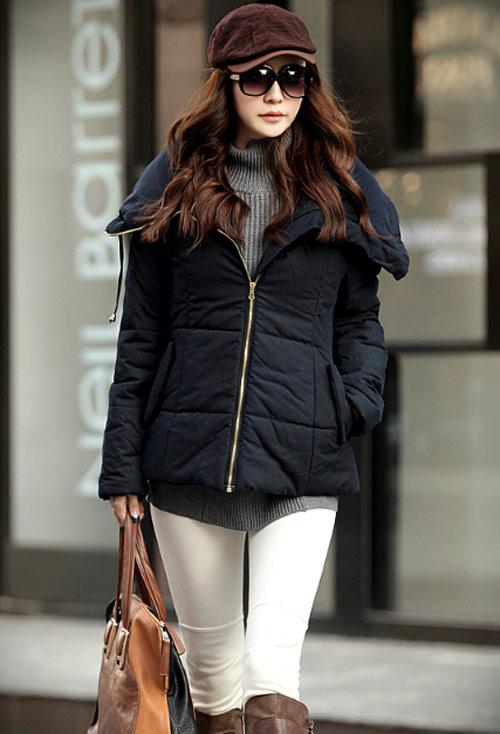 'Duyên ngầm' với áo phao mùa đông - 27