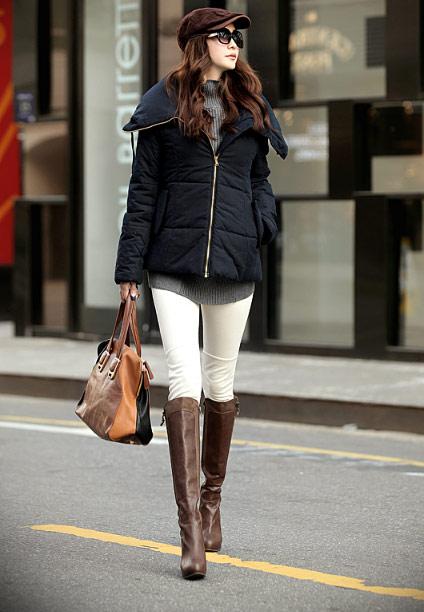 'Duyên ngầm' với áo phao mùa đông - 28