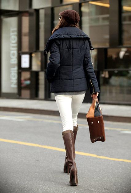 'Duyên ngầm' với áo phao mùa đông - 29