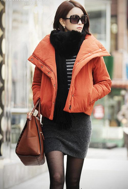 'Duyên ngầm' với áo phao mùa đông - 18
