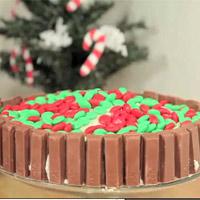 Video: 5 kiểu trang trí bánh noel đơn giản