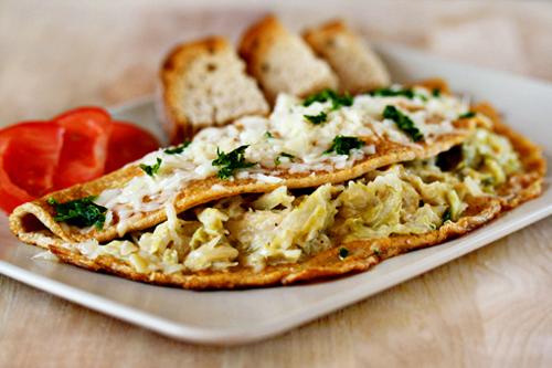 Trứng ốp-lết bắp cải ăn không còn ngán - 1
