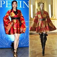 Váy tiền tỷ của Lý Nhã Kỳ là hàng fake?