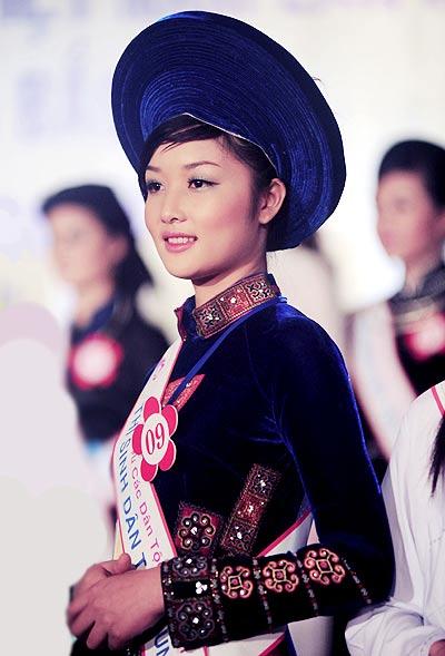 Triệu Thị Hà đăng quang Hoa hậu các dân tộc VN - 2