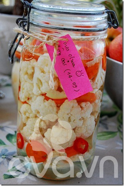 Món mới: dưa chua bông cải trắng - 1