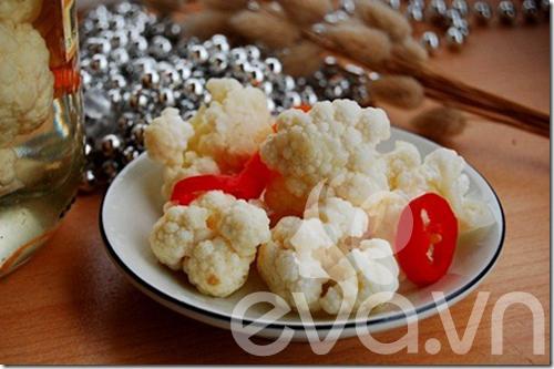 Món mới: dưa chua bông cải trắng - 2