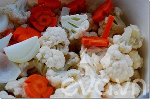 Món mới: dưa chua bông cải trắng - 4