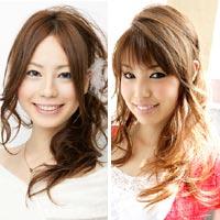 Hai kiểu tóc lệch đáng yêu cho bạn gái
