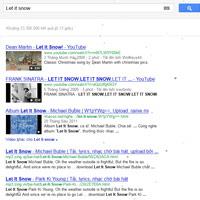 Ngắm tuyết rơi với Google Search