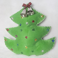 Làm cây thông Noel treo cửa cực dễ