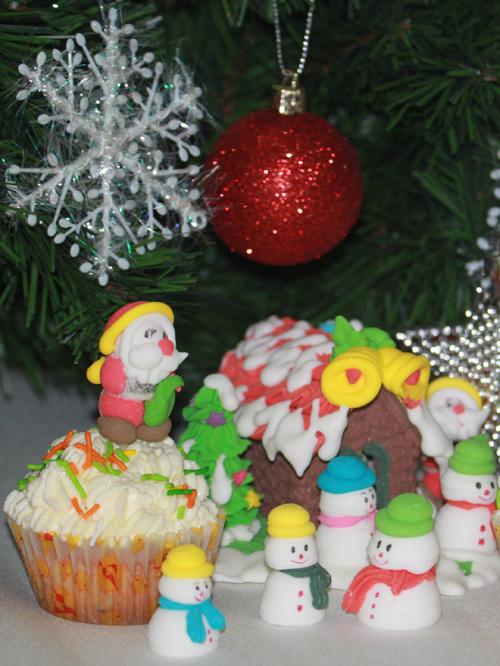 Bánh Muffin nho ấm áp đêm Giáng sinh - 10