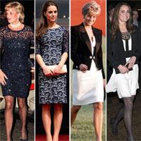 Kate Middleton bắt chước công nương Diana?