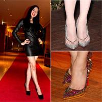 Giày Louboutin 'hớp hồn' mỹ nhân Việt