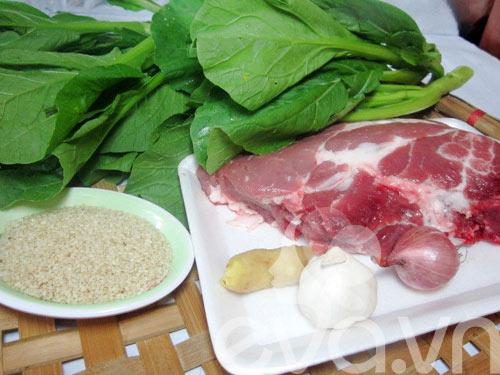Ngon cơm thịt xào ngồng cải - 1