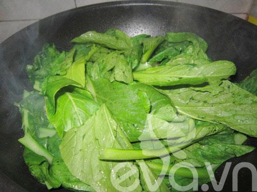Ngon cơm thịt xào ngồng cải - 6
