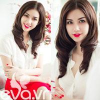 Quỳnh Chi 'tái xuất' đẹp ngỡ ngàng