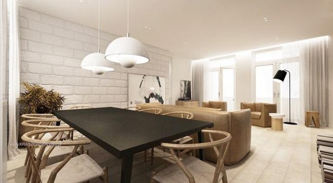 Không gian của những căn hộ ấm áp này sẽ mang bạn đến với sự ngọt ngào và mê đắm khi ngắm nhìn.