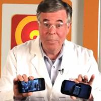 Thử nghiệm Galaxy S3 và iPhone 5 trong máy xay sinh tố