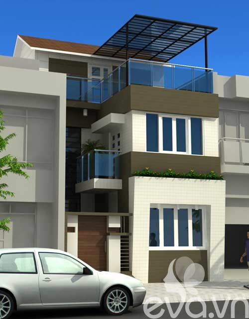 Tư vấn xây nhà 2 tầng 48m2 - 4