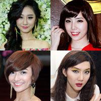 5 mỹ nhân 'nâng cấp' nhờ tóc mới
