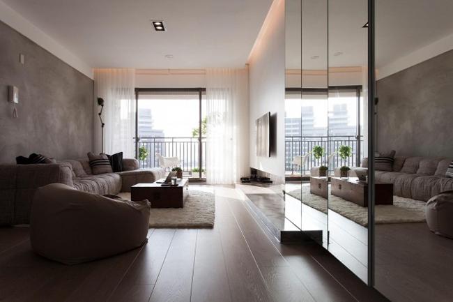 Đây là một căn hộ bình thường, không có gì nổi bật hay đặc biệt...