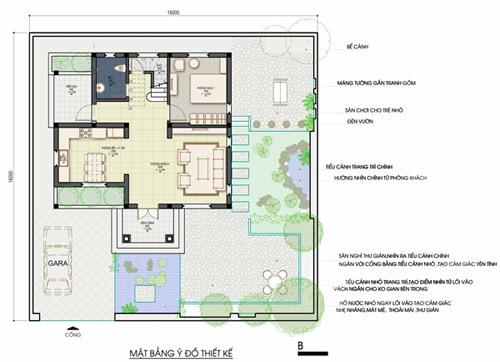 Xây nhà 2 tầng cho gia chủ đất rộng - 1