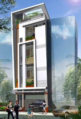 Tư vấn xây nhà 40m2 cao vút - 5